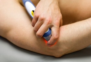Chiropractor Using Laser Therapy to Accelerate Healing